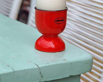 Cabanaz eierdopset rood