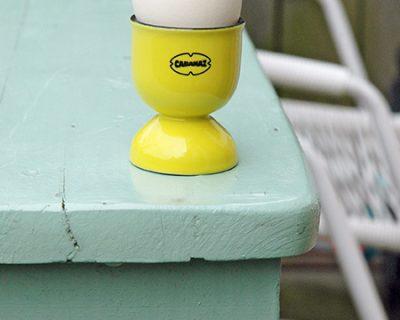 Cabanaz eierdopset geel