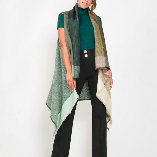 Duurzame wollen sjaal kopen