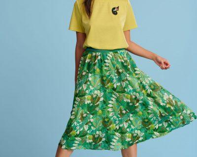 POM Amsterdam skirt Jungle Beats Green