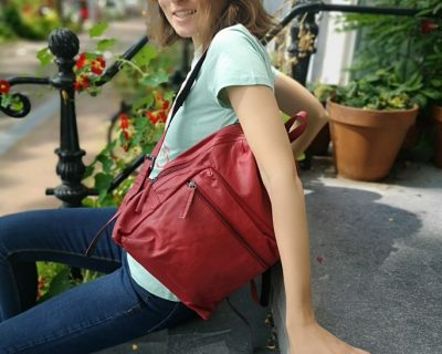 Sticks & Stones Brooklyn backpack Red