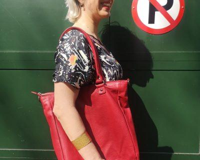 Sticks & Stones Malibu Shopper Bag Red