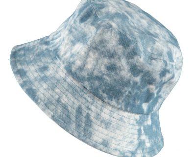 Bucket Hat Blue Batik