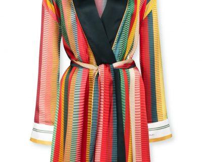 PIP Studio Kimono jacquard stripe multi